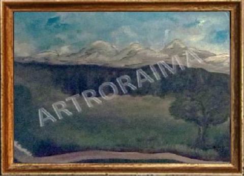 Mountain Firs - Acrylic