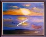 AutumnRiverSunset-1a